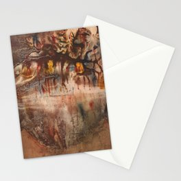 Middle of the Earth Stationery Cards
