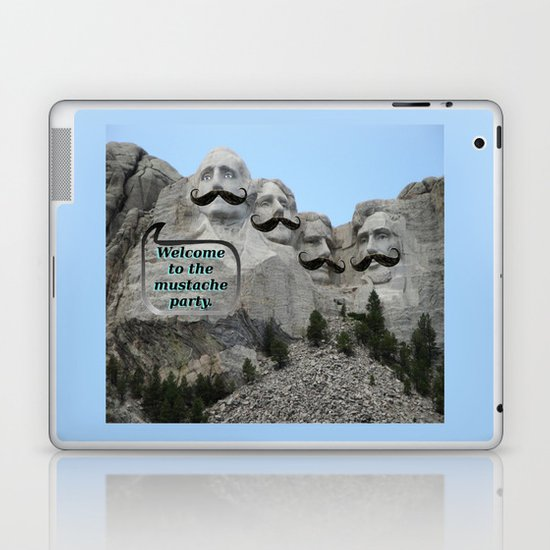 Mount Mustache Laptop & iPad Skin