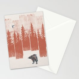A Bear in the Wild... Stationery Cards