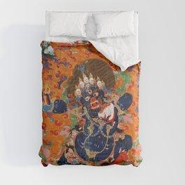 Buddhist Diety Mahakala 2 Comforters