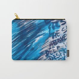 Watercolor with words Carry-All Pouch