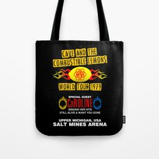 Cave & The Combustible Lemons Tote Bag