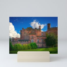 Dalhousie Castle of Scotland Mini Art Print