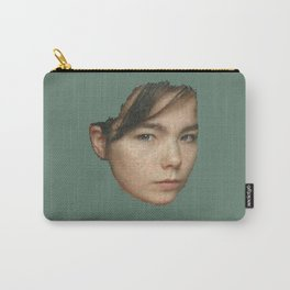 Little squares of Björk Carry-All Pouch