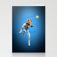 thundercats Stationery Cards featuring Thundercats iphone case by Dante RD