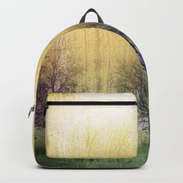 rainy forest Backpack