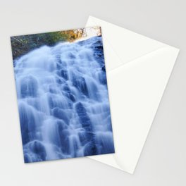 Crabtree Falls at Golden Hour Stationery Cards