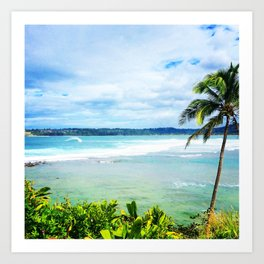 Hanalei Bay Day Art Print