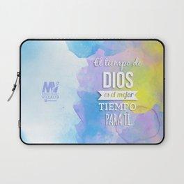 El Tiempo de Dios  Laptop Sleeve