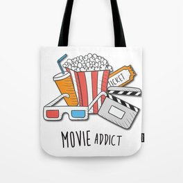 Movie Addict Tote Bag