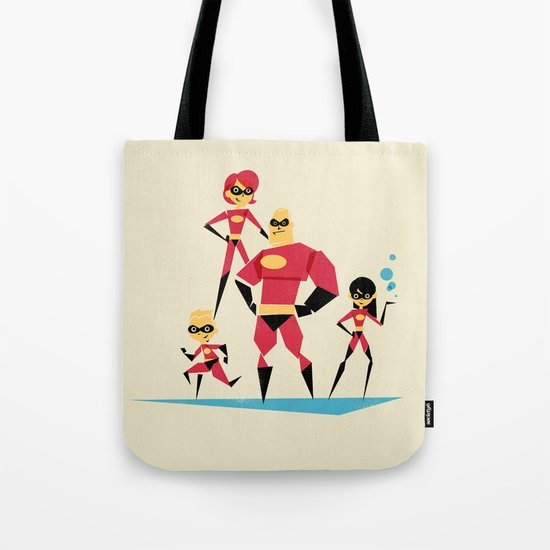 Incredi-family Tote Bag