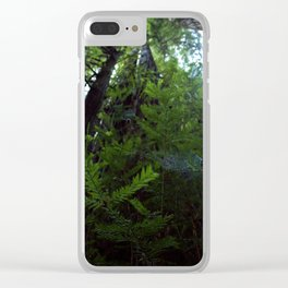 Through the Leaves Clear iPhone Case