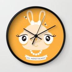Ms. Honey Bunny Wall Clock