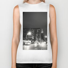 New York City at Night Biker Tank