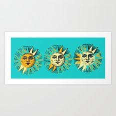 Sunny 3 Art Print