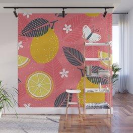 Make Lemonade Wall Mural