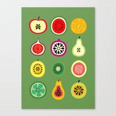 Banca de Frutas Canvas Print