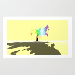 Olympic Sochi or daylight robbery Art Print