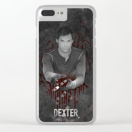 WILD DEXTER 01 Clear iPhone Case