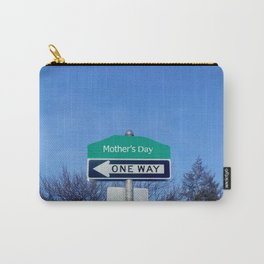 Mother's Day funny design with signpost Carry-All Pouch