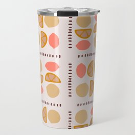 Citrus pattern Travel Mug