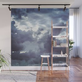 The Beauty of the Storm Wall Mural