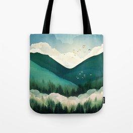 Emerald Hills Tote Bag