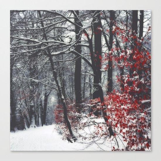 Winter Day Canvas Print