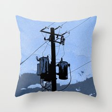Transformer Throw Pillow