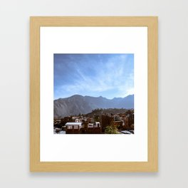 Canyon Village Framed Art Print