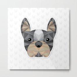 Bulldog Metal Print