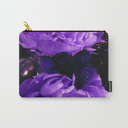 Peony Ultra Violet Carry-All Pouch