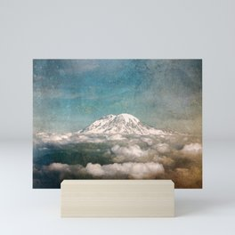 Mount Rainier Adventure - Pacific Northwest Mountains Mini Art Print