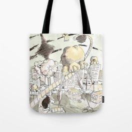 Toronto Popcorn invasion Tote Bag
