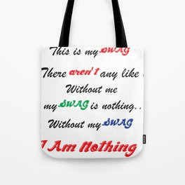 swagg Tote Bag