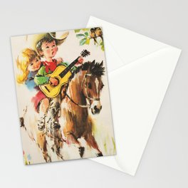 Little Cowboy Stationery Cards