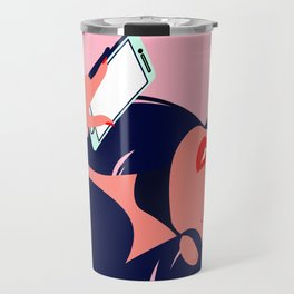 Digital Summer Travel Mug
