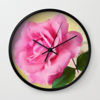 blush Wall Clocks featuring Blush by ThePhotoGuyDarren