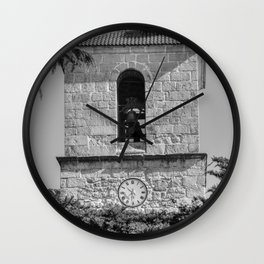 Bell tower Wall Clock