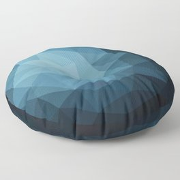 Dark Blue Floor Pillow