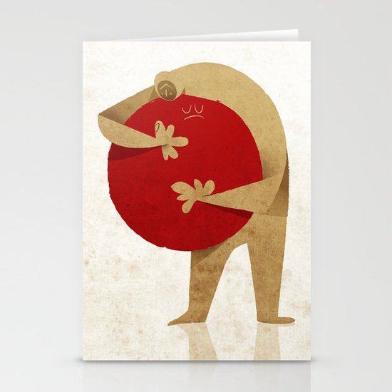 For Japan with love Stationery Cards