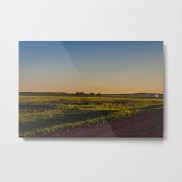 Late July, Golden Valley County, North Dakota Metal Print