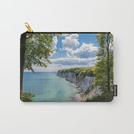 Chalk cliffs on the Baltic Sea coast Carry-All Pouch