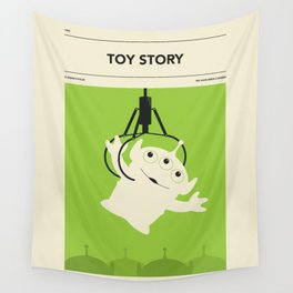 """""""TOY STORY"""" by Jazzberry Blue Wall Tapestry"""
