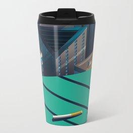 Bistro Metal Travel Mug