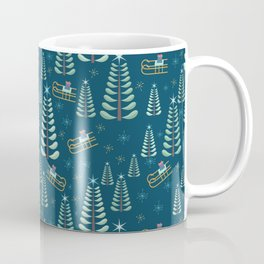 Retro Christmas Coffee Mug