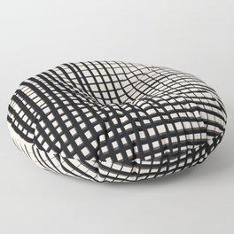 Horizontal & Vertical Lines Floor Pillow