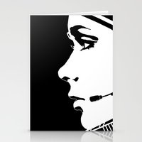 astronaut Stationery Cards featuring Astronaut by Ana C Diaz Cano