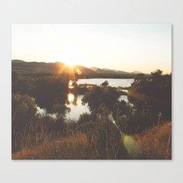 Golden Hour Glow Canvas Print