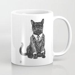 Fancy Cat Coffee Mug